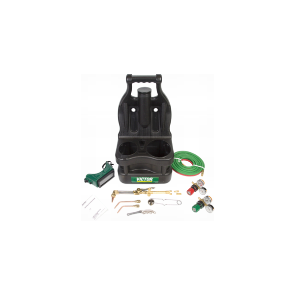 TURBO G150-J-CP TOTE KIT,0384-0947,Victor/Turbo Torch,Oxy