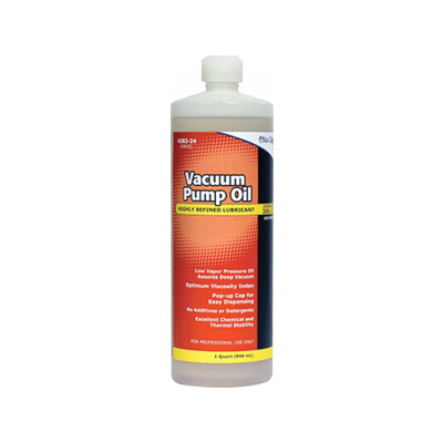 VACUUM PUMP OIL 1 QT.